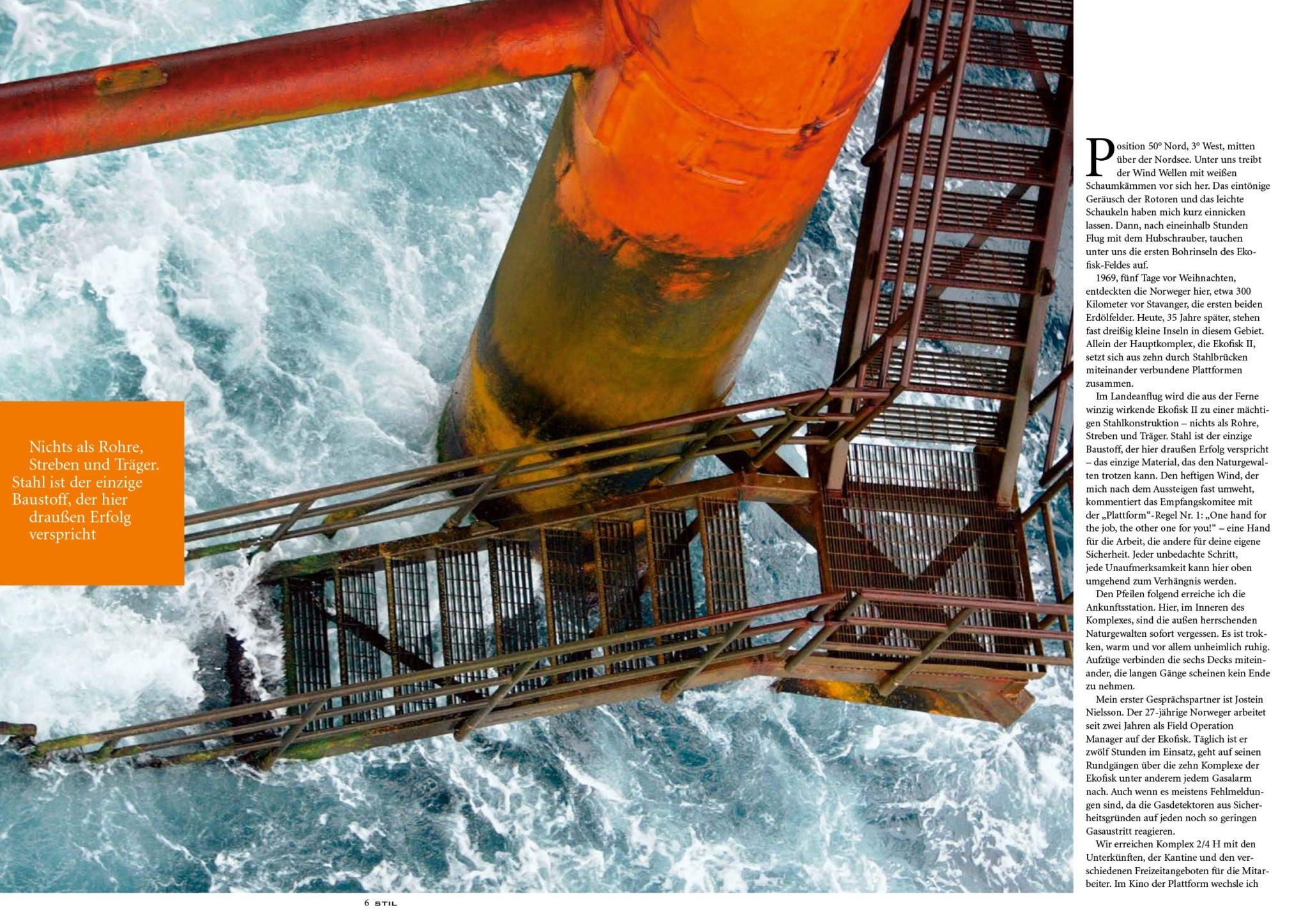 Baker & Company übersetzt den Sonderdruck STIL der Salzgitter AG für den Schau Verlag 05