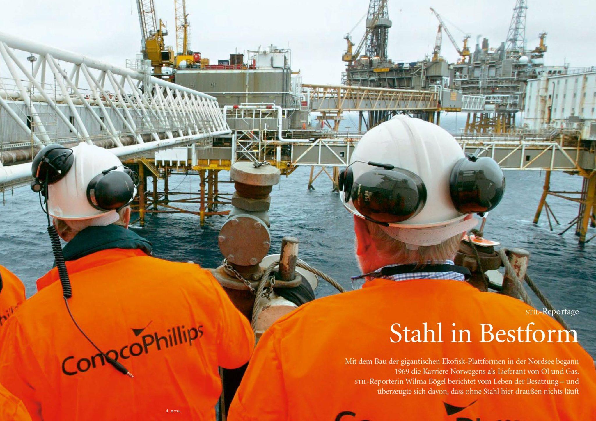 Baker & Company übersetzt den Sonderdruck STIL der Salzgitter AG für den Schau Verlag 06